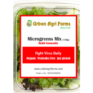 Microgreens Box – Monthly Plan