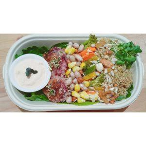 Quinoa Protein Rainbow Salad